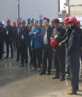 2017年3月4日,青岛地铁集团董事长贾福宁带领青岛地铁2017年第一季度